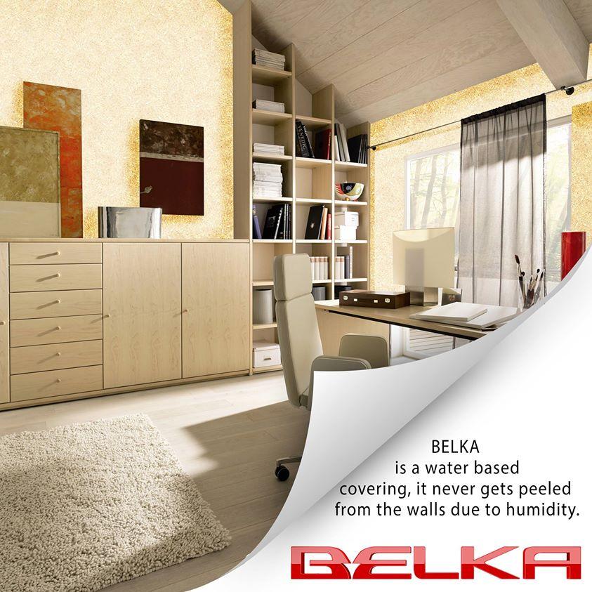 Sơn phủ bột Belka
