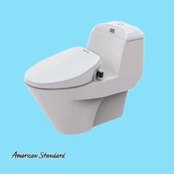 Bộ bàn cầu + nắp rửa thông minh AMERICANSTANDARD VF-2011S