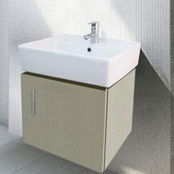 Chậu rửa Cabinet Inax CB0504-4IF-B (Màu gỗ nhạt)