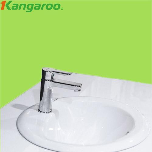 Chậu đặt dương vành Kangaroo KG 6001