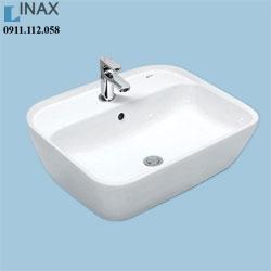 Chậu rửa Inax đặt bànGL-296V