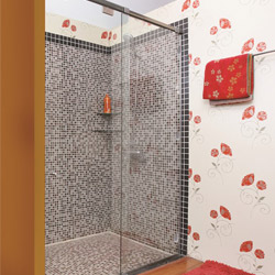 Phòng tắm kính cửa lùa DQ 853